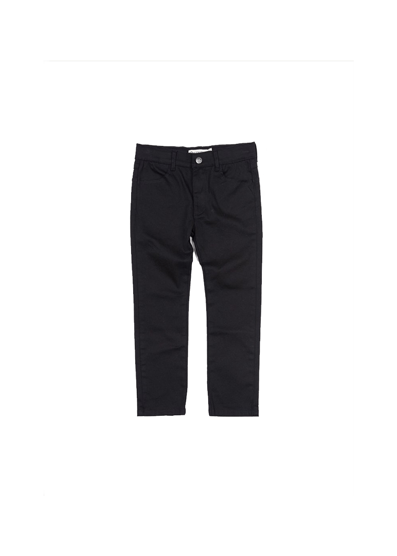 skinny black twill pant Bottom Appaman