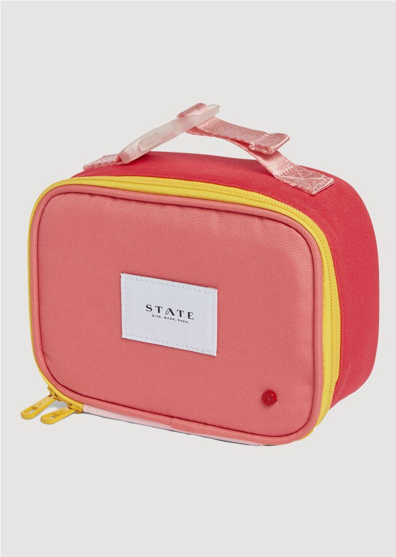 Ryder Snack Pack Pink and Mint Lunch Box State Bags