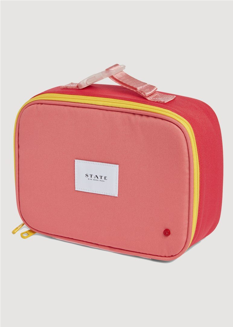 Rodgers Pink and Mint Lunch Box Lunch Box State Bags