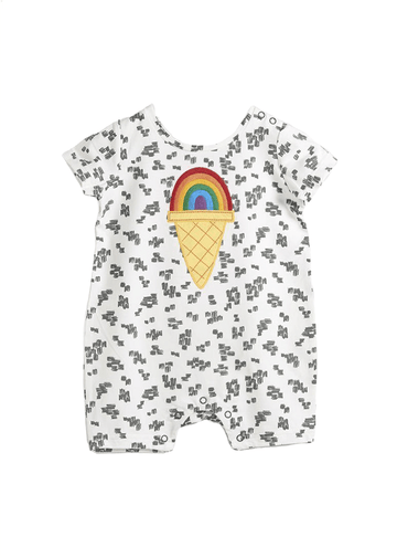 rainbow playsuit Onesie Bonnie Mob