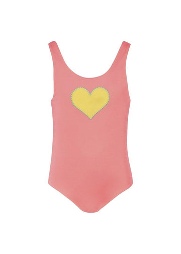 Heart Reversible Tie Back Swimsuit Swim Sunuva