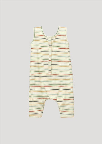 painter stripe romper romper For Love and Lemons