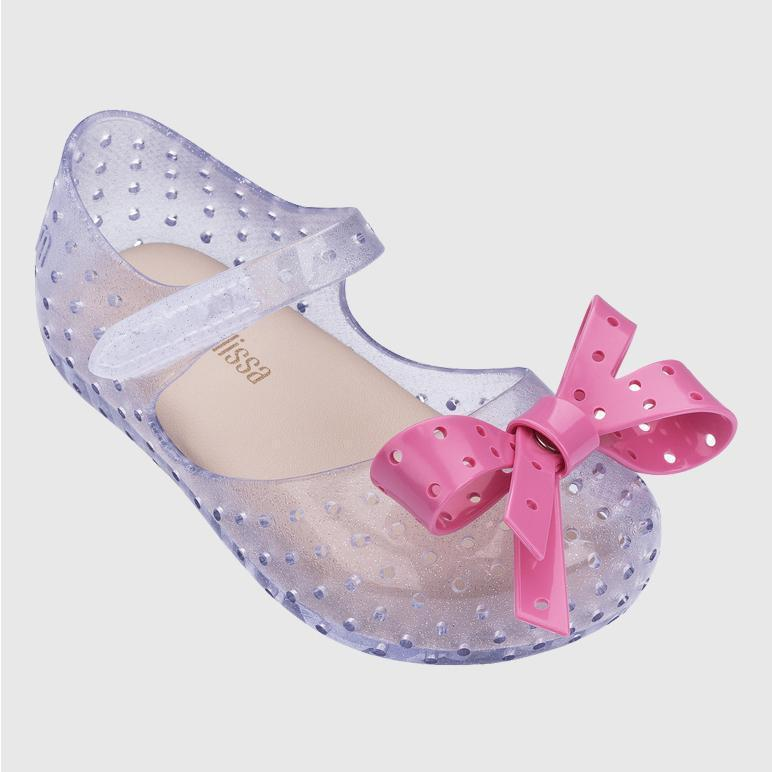 clear glitter shoe Shoes Mini Melissa