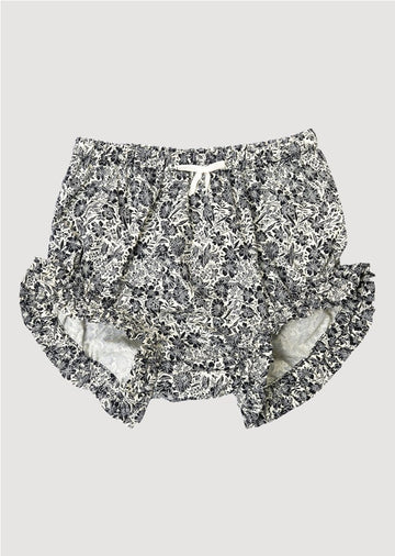 black and white floral bloomer Bottom Leah and Rae