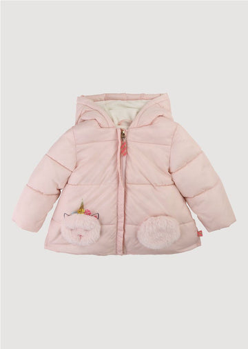 unicorn hooded jacket Outerwear Billie Blush