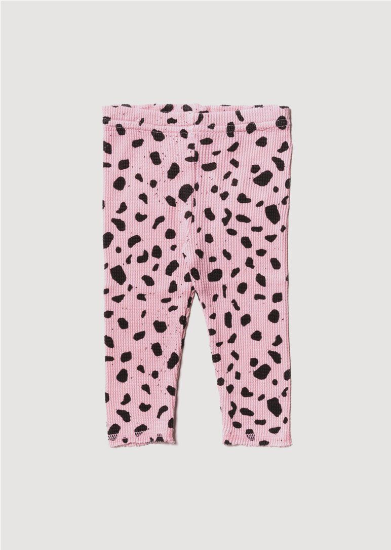 pink waffle leggings Bottom Noe and Zoe