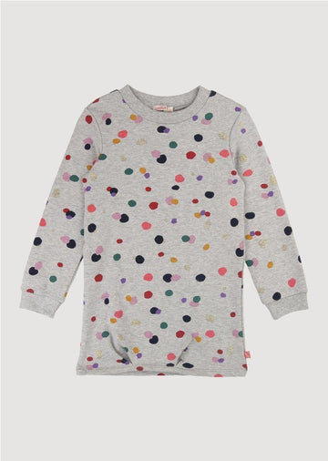 long sleeve dots dress multi color Dress Billie Blush