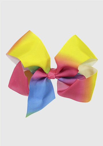 large rainbow bow Accessory River and Rosy