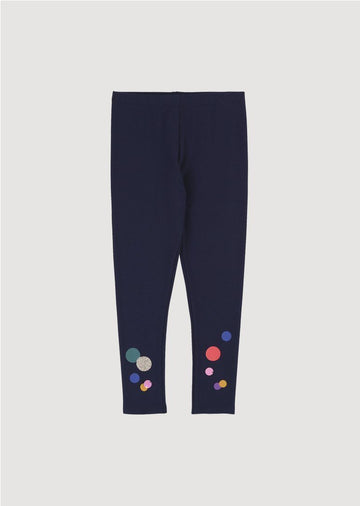 indigo dot leggings Bottom Billie Blush
