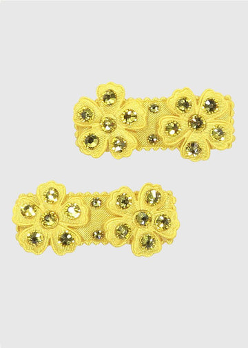 yellow daisy clip set Accessory River and Rosy