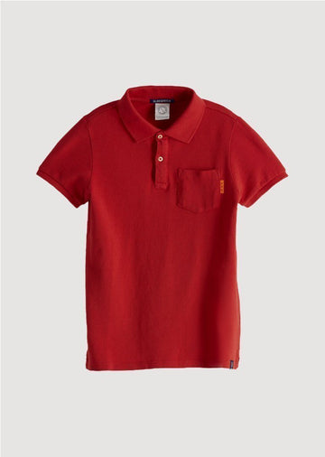 boys dyed polo Top Scotch Shrunk