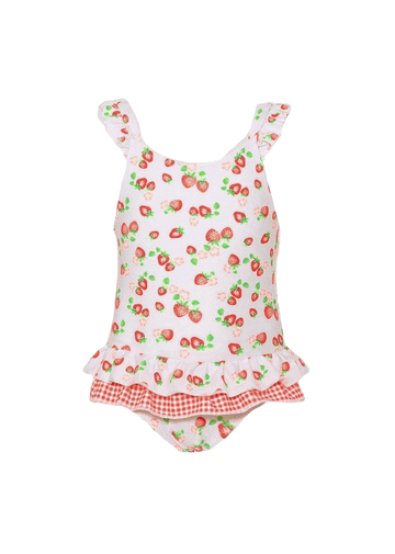 wild strawberries frill swimsuit Swim Sunuva