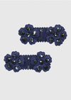 navy daisy clip set Accessory River and Rosy