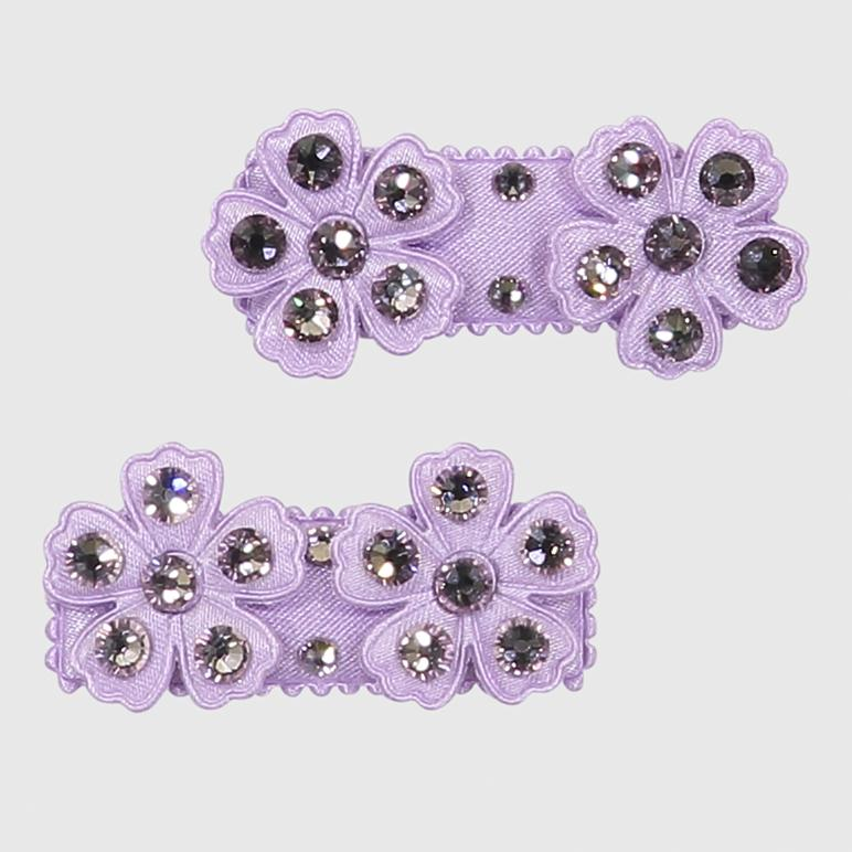 lilac daisy clip set Accessory River and Rosy