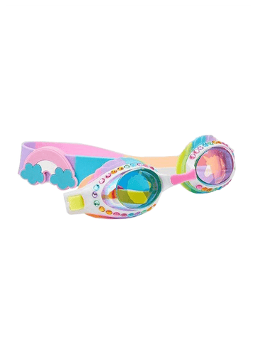 rainbow unicorn goggles Swim Bling2o