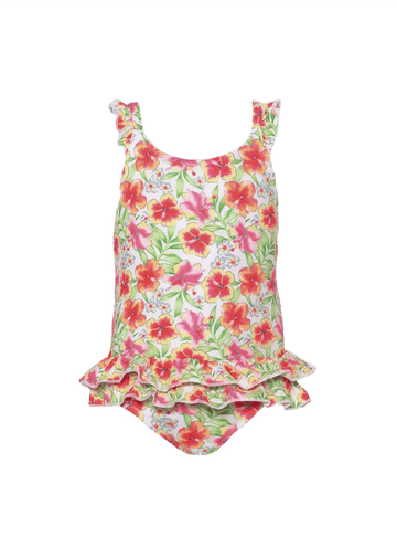 Tropical Frill Swimsuit Swim Sunuva