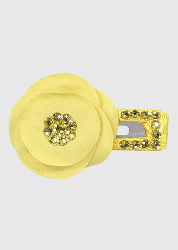 yellow daisy clip Accessory River and Rosy