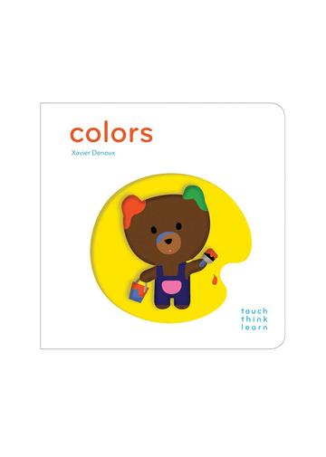 TouchThinkLearn: Colors Book Chronicle Books