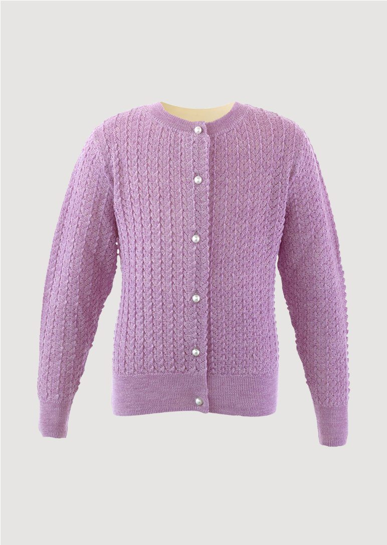 Lace Knit Cardigan Cardigan Rachel Riley