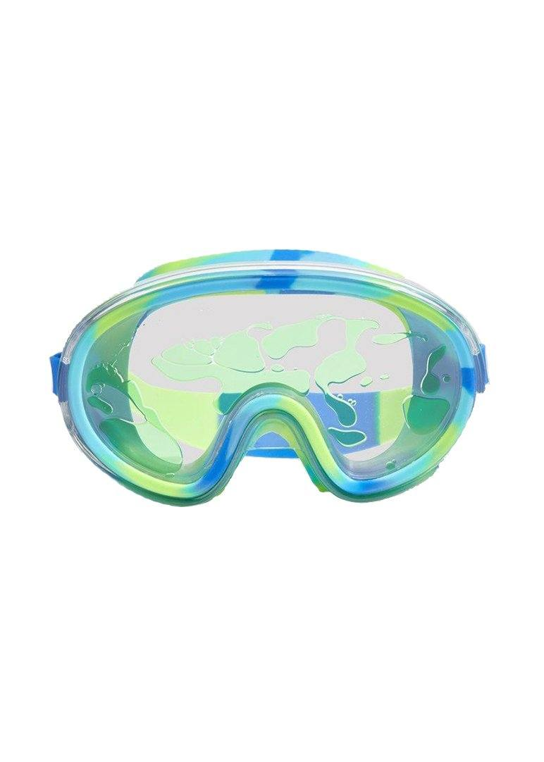 lime molten lava dive mask Swim Bling2o