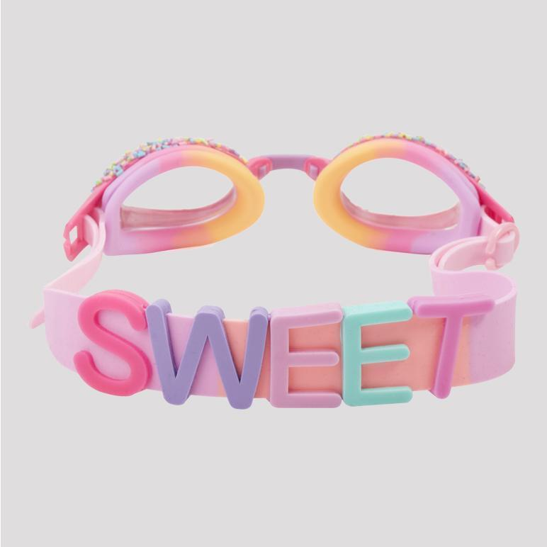 hot pink berry goggles Swim Bling2o