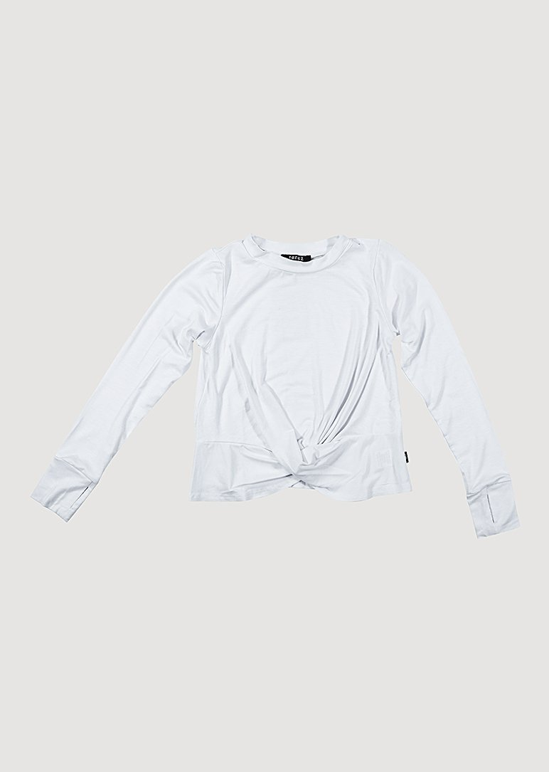 Twist Front Long Sleeve Top Terez