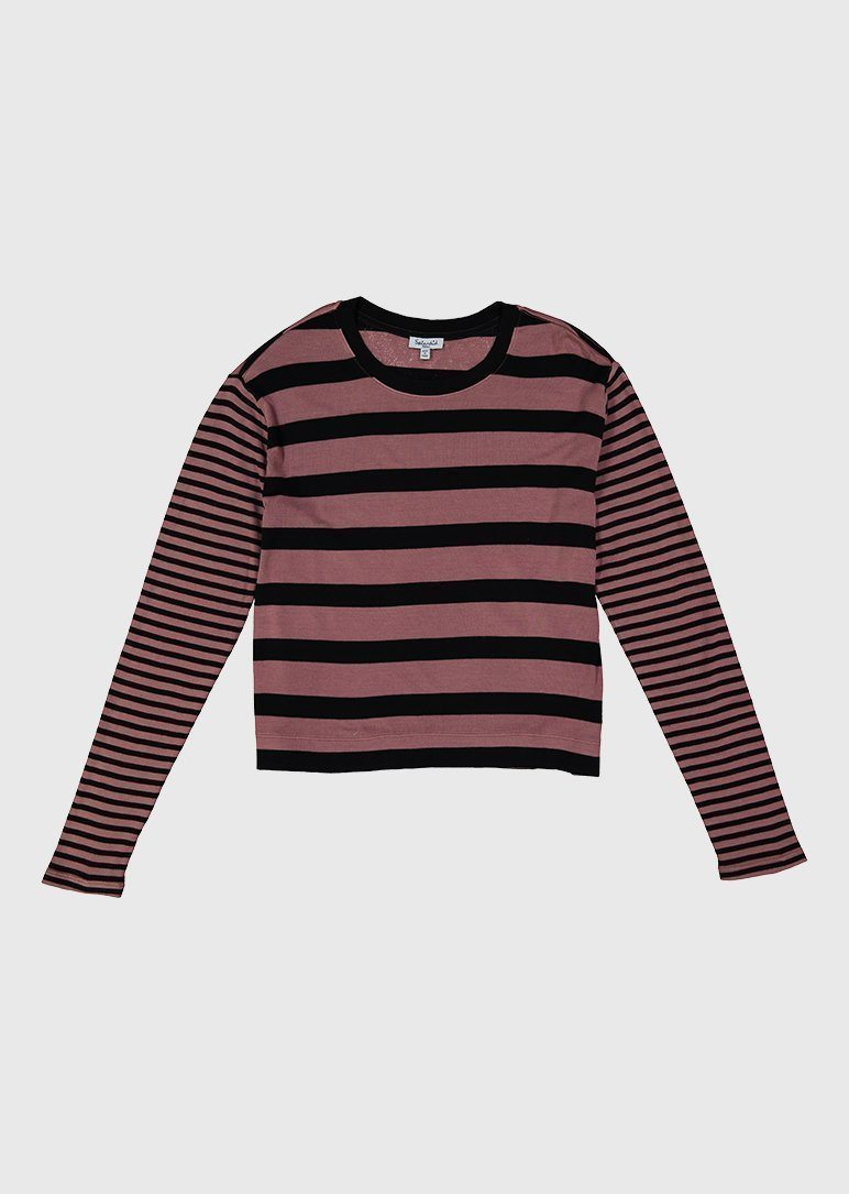 mommy long sleeve stripe top Mom Splendid