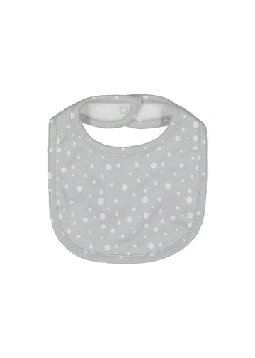 grey dot bib bib Giggle