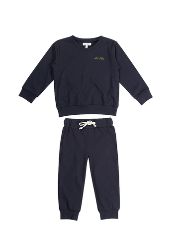 Smile Sweatsuit Set Set Giggle
