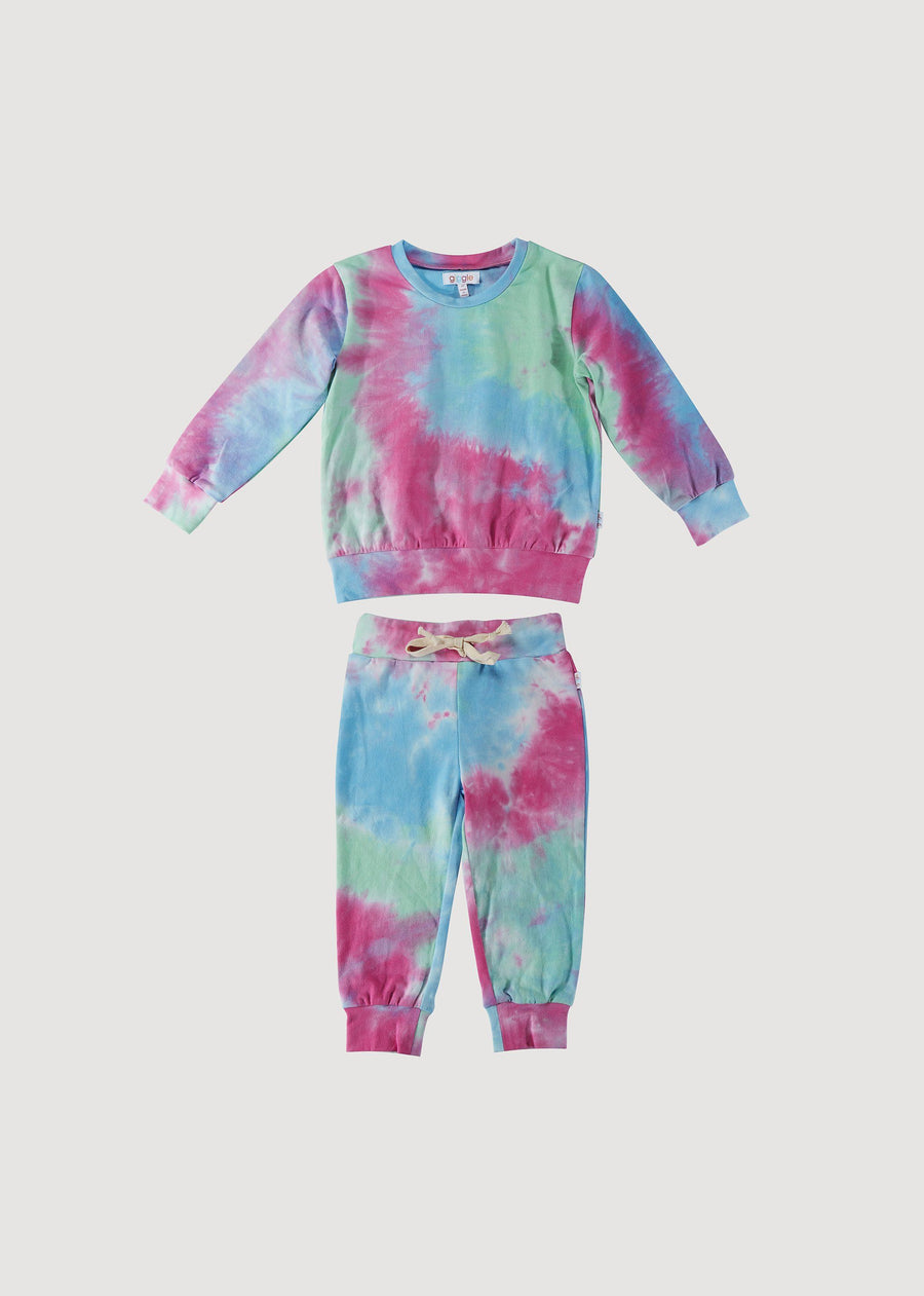 Madison Tie Dye Sweatsuit Set Set giggle