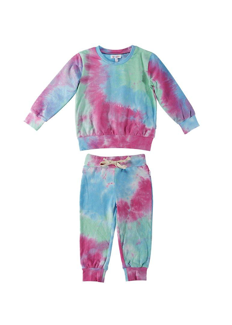 Madison Tie-Dye Sweatsuit Set Set giggle