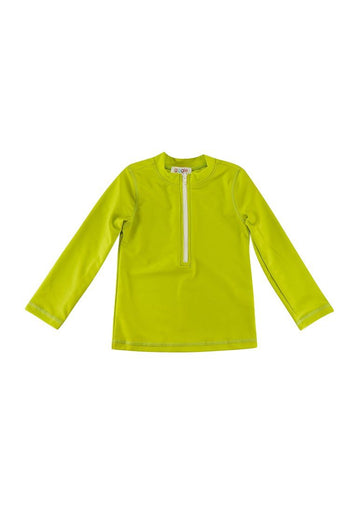 Graham Long Sleeve Rash Guard - Neon Swim Giggle