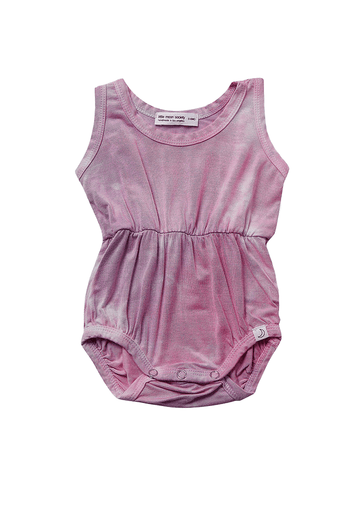 Summer Sparkling Pink Romper Romper Little Moon Society