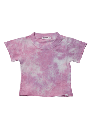 Cali Sparkling Pink Tee Top Little Moon Society