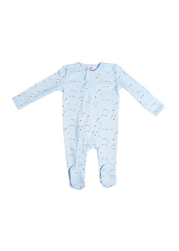 Blue Constellation Footie Pajamas Giggle