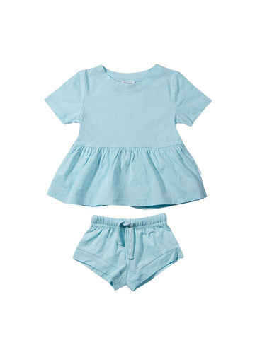 Ellie Cotton Set - Blue Set Giggle