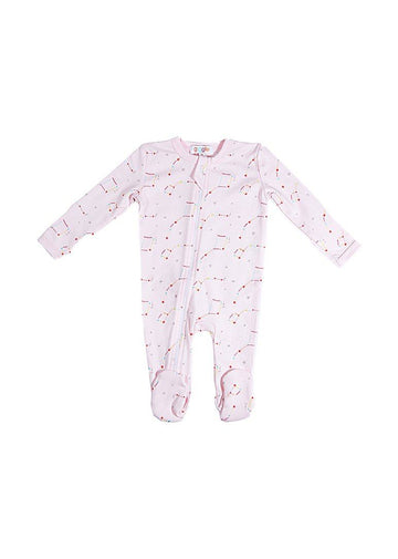 Pink Constellation Footie Pajamas Giggle