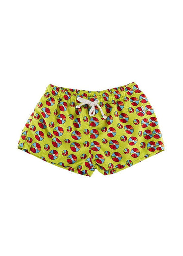 Kade Boys Swim Short - Beach Balls Swim Giggle