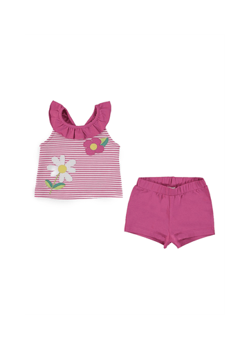 ruffled short set Set Mayoral