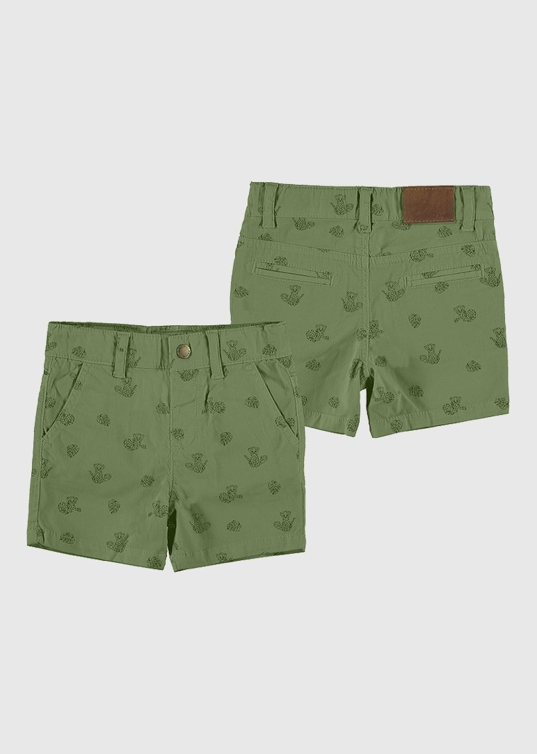 jungle print bermuda short - Green Bottom Mayoral