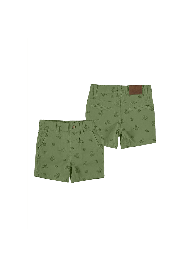 jungle print bermuda short Bottom Mayoral