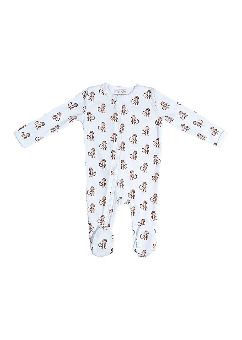 Monkey Footie Pajamas Giggle