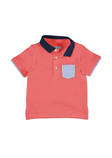 Short Sleeve Polo With Pocket Top Mayoral