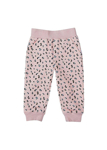 Pink Leopard Sweatsuit Pant Bottom Giggle