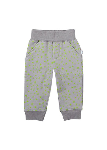 Green Star Print Sweatsuit Pant Bottom Giggle