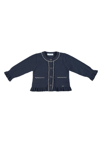 navy knitted cardigan Cardigan Mayoral