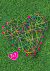 lawn string art - giggle