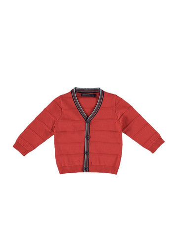 Dressy Cardigan - Red Sweater Mayoral