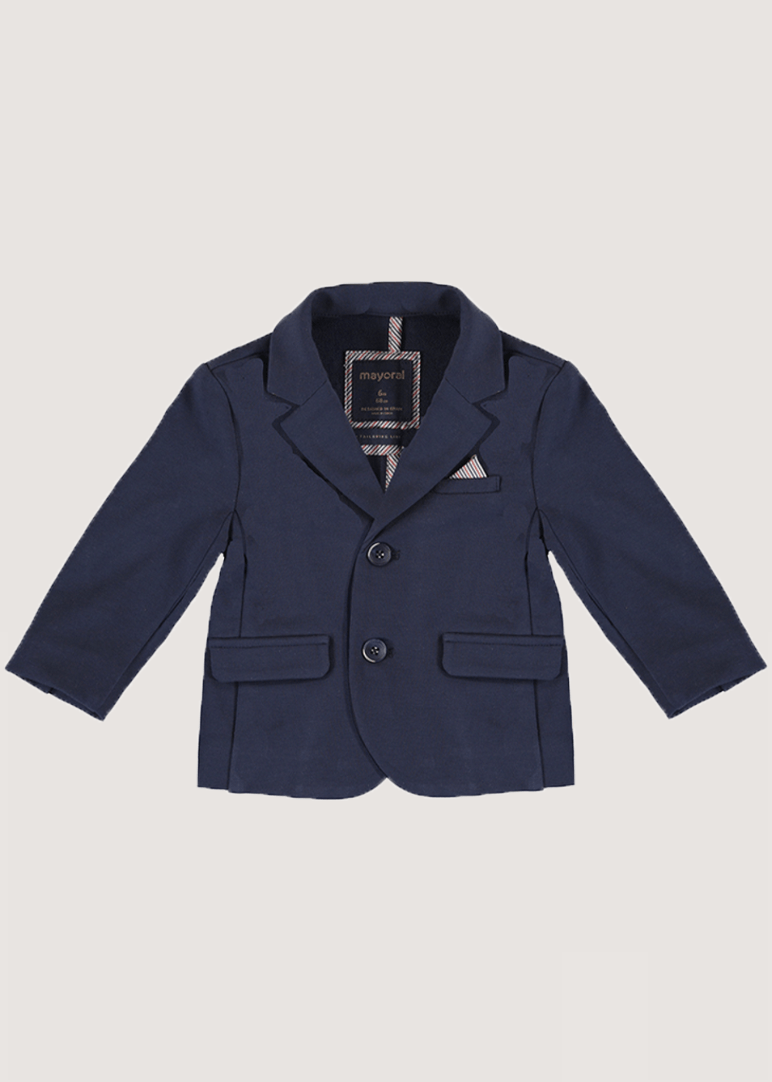 Knit Suit Blazer - Navy Jacket Mayoral