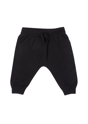 Peyton Cotton Knit Pant - Black Bottom Giggle